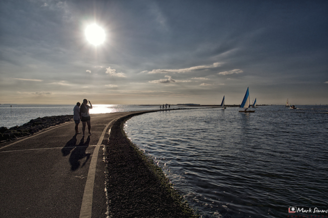 Summer Evening, West Kirby, Wirral, England