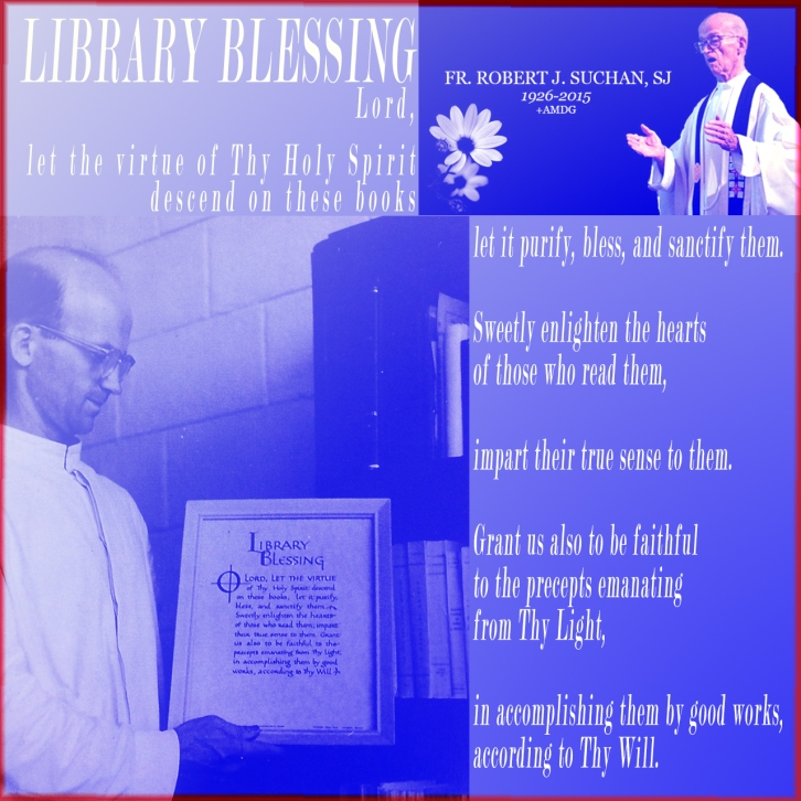LIBRARY BLESSING http://wp.me/p4PBTD-1aZ