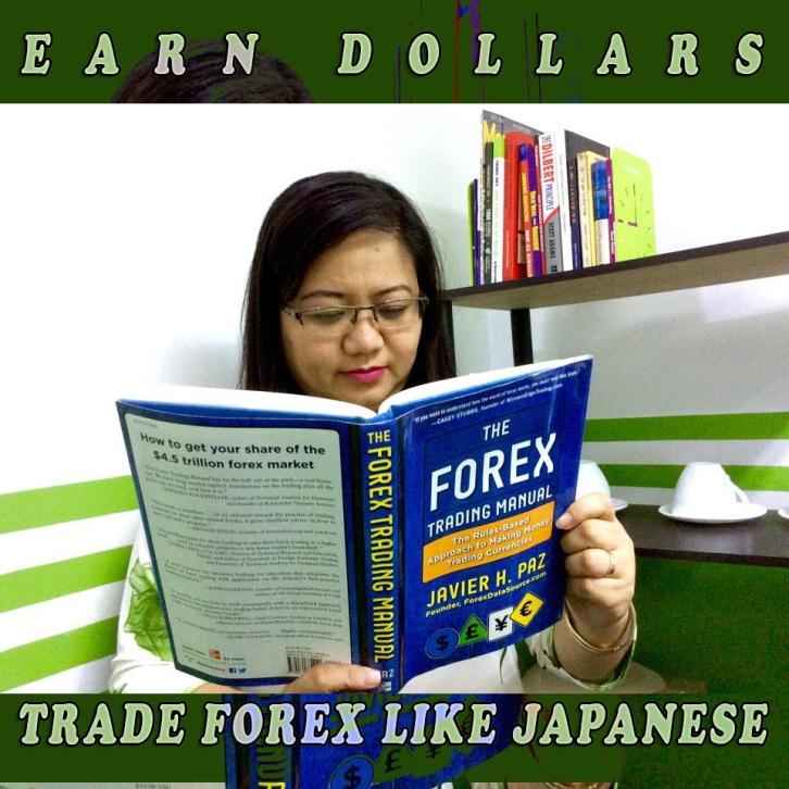 EARN DOLLARS TRADE FOREX LIKE JAPANESE