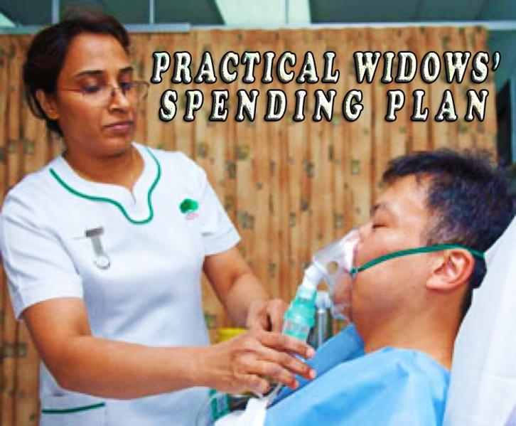 PRACTICAL WIDOWS' SPENDING PLAN