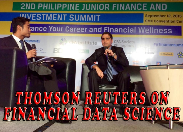 THOMSON REUTERS ON FINANCIAL DATA SCIENCE