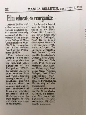 Film educators reorganize