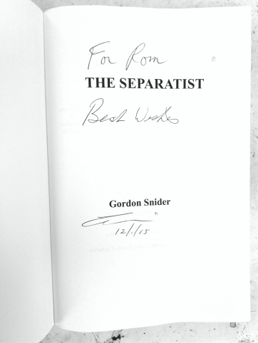 the separatist signed