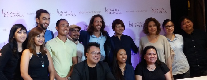 ignacio de loyola Meets the press