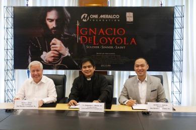 ignacio de loyola & one Meralco foundation