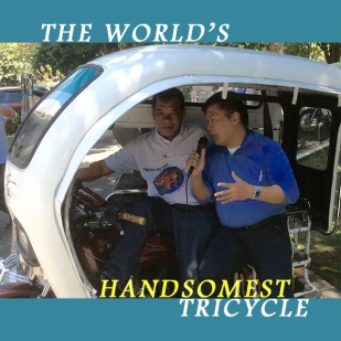 THE WORLD'S HANDSOMEST TRICYCLE