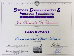 toastMasters leadership coMMunication