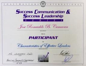toastMasters leadership coMMunication