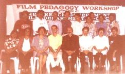 The Film and Audiovisual Communication Department College of Mass Communication University of the Philippines Presents this Certificate to JOSE ROMUALDO B. CUMAGUN for the successful completion of the requirements in the FILM PEDAGOGY WORKSHOP conducted in cooperation with the Ministry of Foreign Affairs, Republic of France on October 27 to November 7, 1997 given this 7th day of November 1997 at the University of the Philippines, Diliman, Quezon City Signed SERGE GRUNBERG (Professor, University of Paris VIII) Christophe Jan (Audiovisual Attache, The French Embassy) Luis V. Teodoro, Jr. (Dean, College of Mass Communication U.P.)