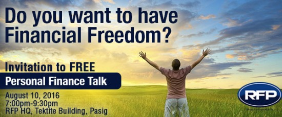 do you want financial freedom?