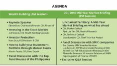 filipino investor: col wealth building suMMit